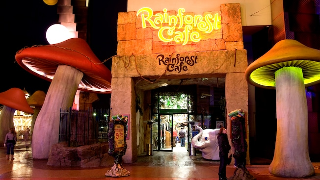 Restaurant Rainforest Cafe Disneyland Paris