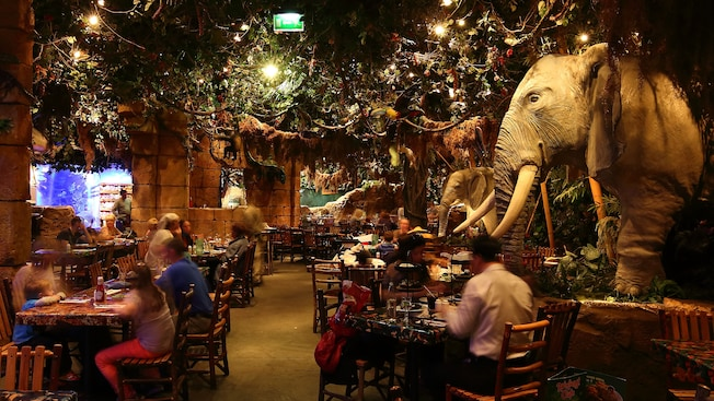 Prix Rainforest Cafe
